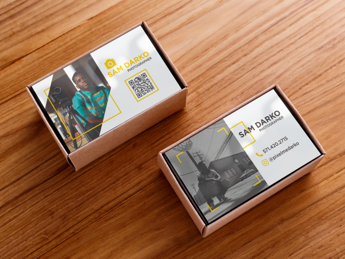 pixelmedarko Business Cards