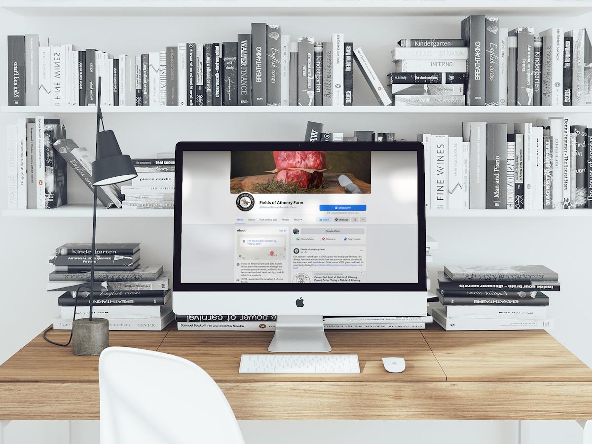 Fields of Athenry Social Media Desktop